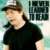 I never learned to read