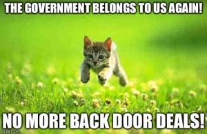 Hold on there kitty cat! The new recommendations still have to pass!
