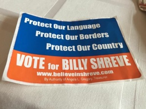 From the Republican tent at the fair.