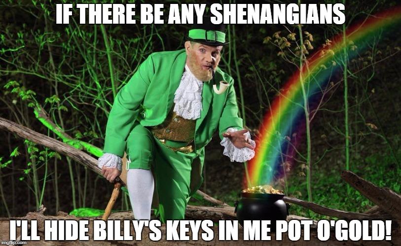 Take heed Billy!
