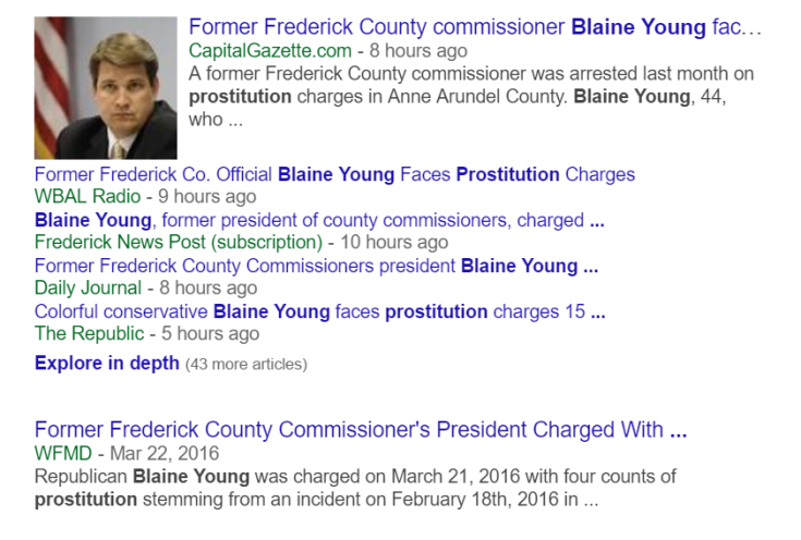 "At least this story didn't read: ""County Executive Blaine Young...."""