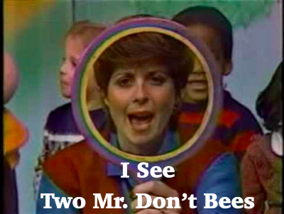 Billy and Kirby should watch Romper Room and refresh their manners.
