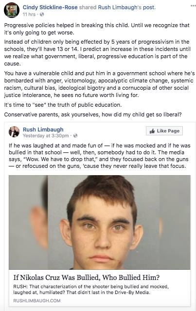 crazy shooter dude gets blamed on the liberals